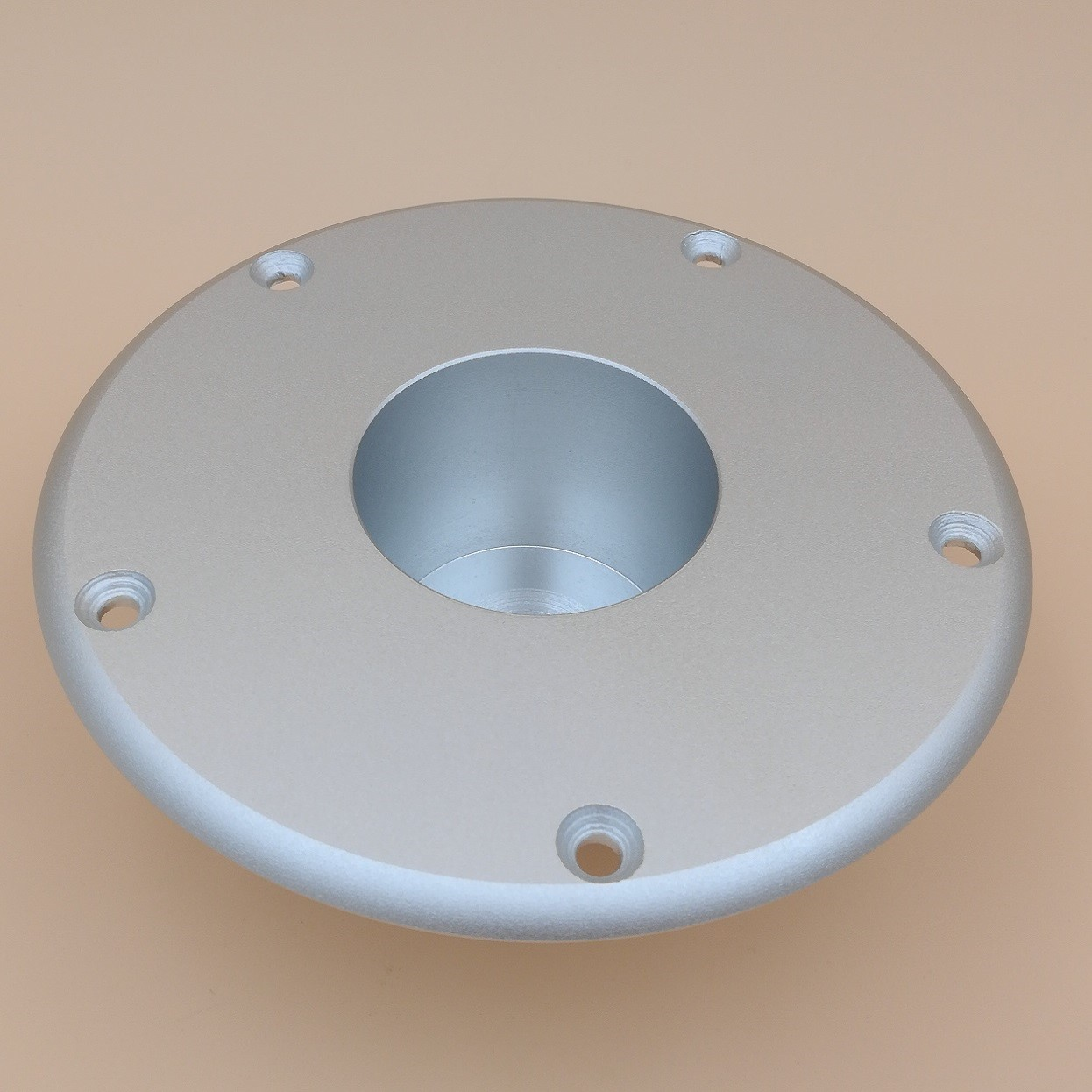 Small built-in base for 60mm tube (bottom)
